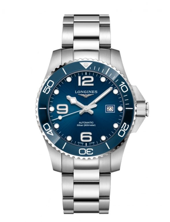 longines hydroconquest 43 azul