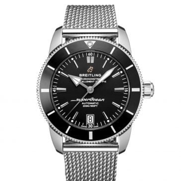 breitling superocean héritage ii b20 automatic 42 negro