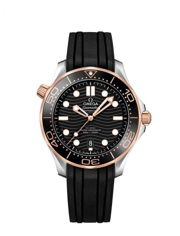 omega seamaster diver 300m 42 acero/oro caucho