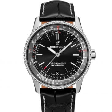 breitling navitimer 1 automatic 38 acero negro