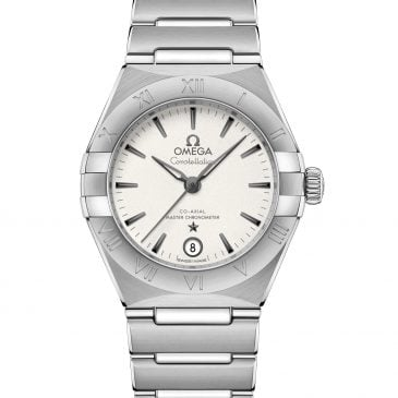 omega constellation manhattan 29 Steel Silver dial