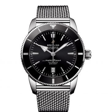 breitling superocean héritage ii b20 automatic 46 negro