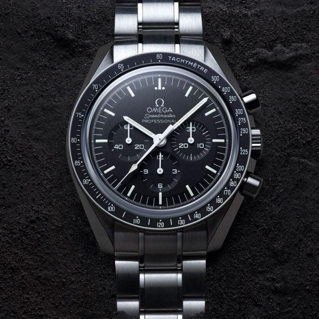 omega speedmaster, el reloj que acompañó al hombre a la luna