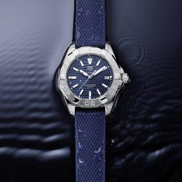 tag heuer presenta el nuevo reloj aquaracer para amantes del ocio y las experiencias