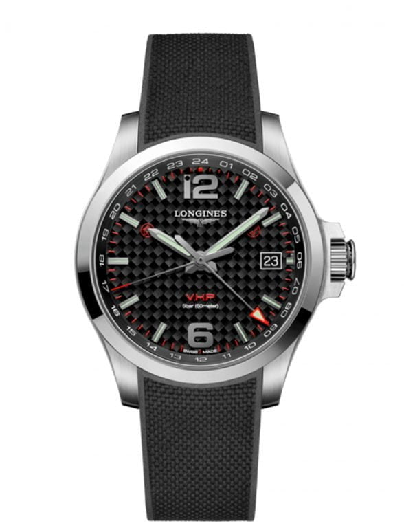 longines conquest v.h.p. gmt 41 mm