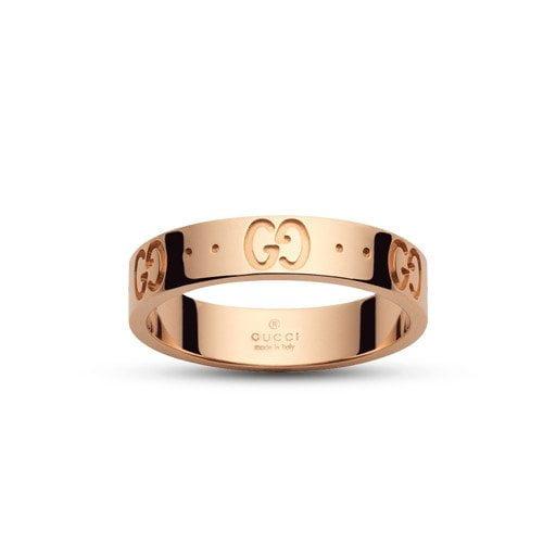 anillo icon oro rosa