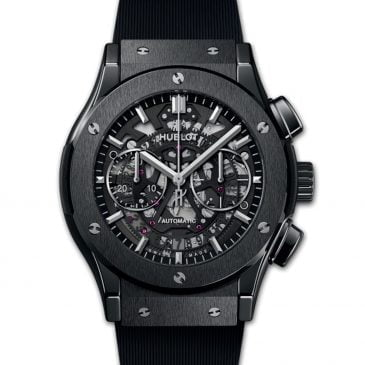 hublot classic fusion aerofusion black magic 45mm cerámica