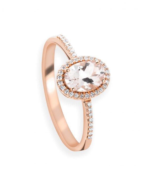 anillo morganita y diamantes (copia)