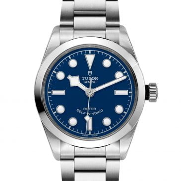 tudor black bay 36 azul