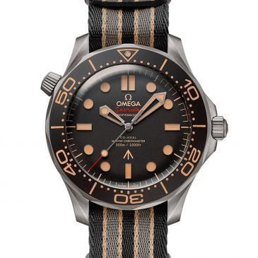 omega seamaster diver 300m 42mm edición 007 pulsera nato