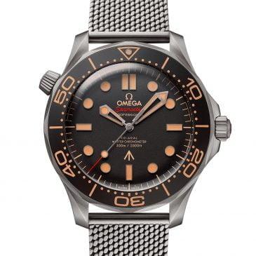 omega seamaster diver 300m 42mm edición 007 titanio
