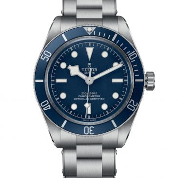 tudor black bay fifty eight navy blue new