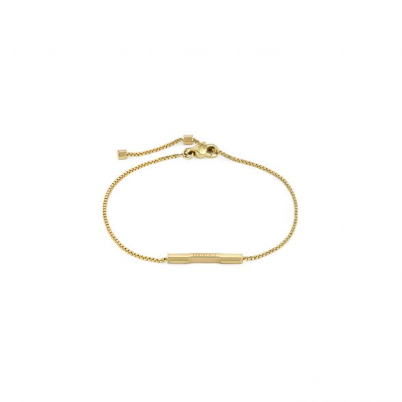 GUCCI Link to Love Armband Gelbgold