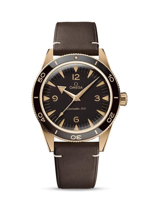 omega seamaster 300 bronze gold 41 nuevo 2021