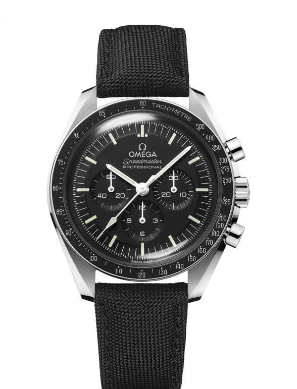 Omega Speedmaster Moonwatch 42 Hesalitglas Neu 2021 Ref 31032425001001